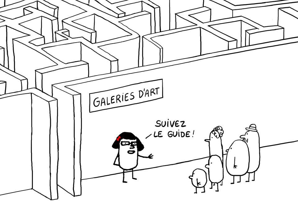 Les galeries pour tous d'Anaïs Montevecchi