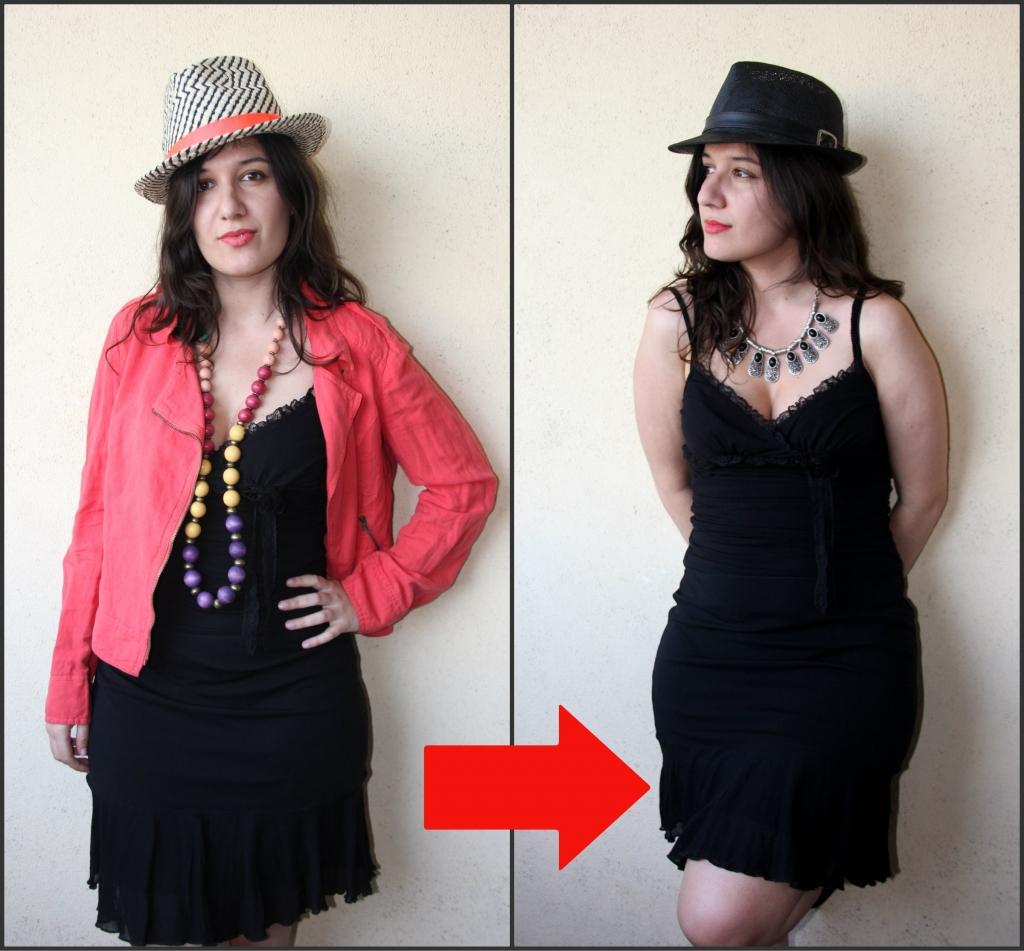 Même robe, style différent