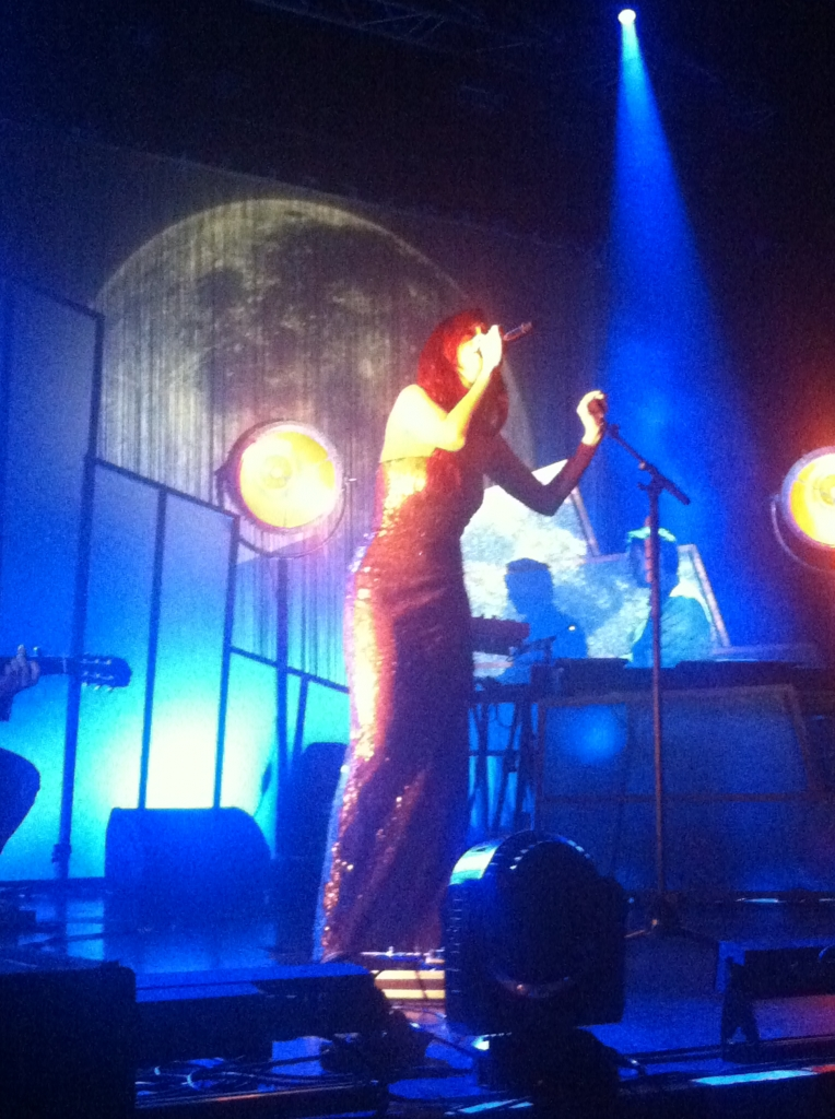 Emilie Simon en concert à Reims