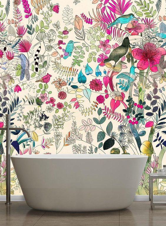 papier-peint-tropical